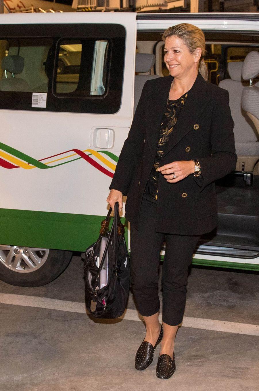 La reine Maxima des Pays-Bas à son arrivée à Addis-Abeba en Ethiopie, le 13 mai 2019