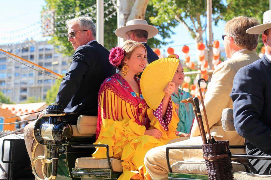 La princesse Catharina-Amalia des Pays-Bas à Séville, le 10 mai 2019
