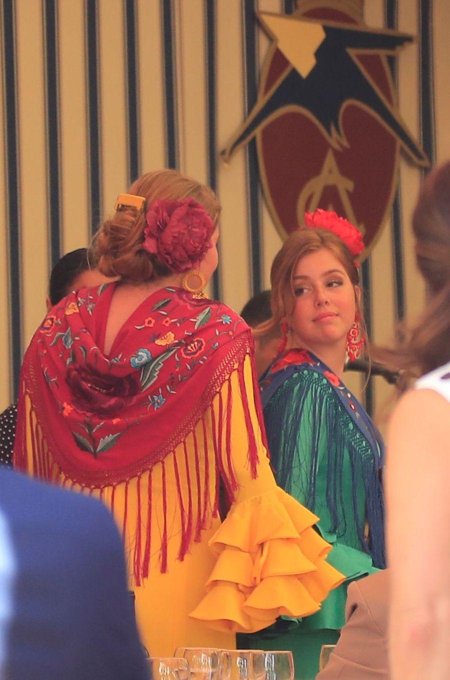 Les princesses Catharina-Amalia et Alexia des Pays-Bas à Séville, le 10 mai 2019
