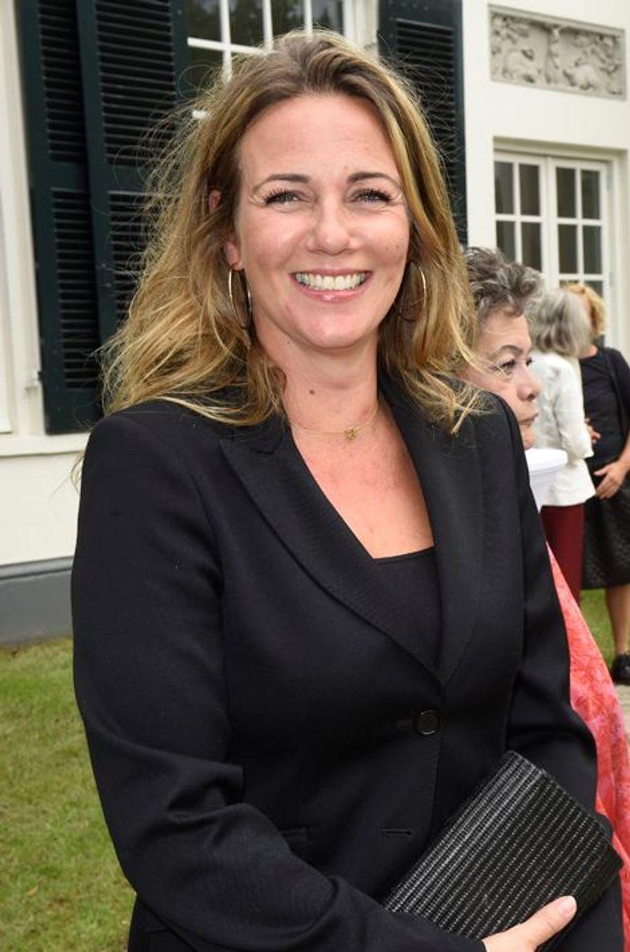 La princesse Annette d'Orange à Laren, le 26 août 2015