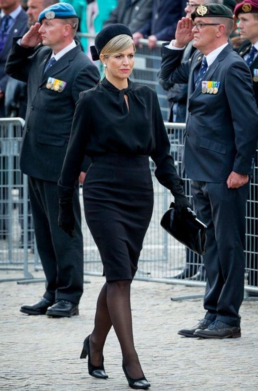 La reine Maxima des Pays-Bas à Amsterdam, le 4 mai 2015