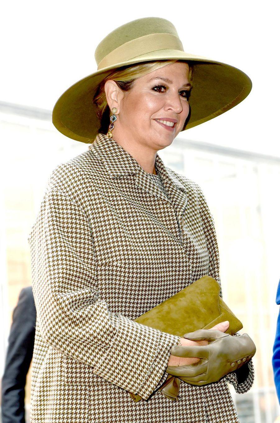 La reine Maxima des Pays-Bas, le 22 novembre 2018 à Bleiswijk