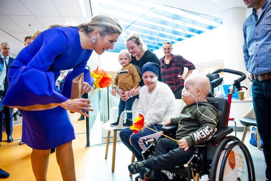 La reine Maxima des Pays-Bas à Utrecht, le 3 décembre 2019