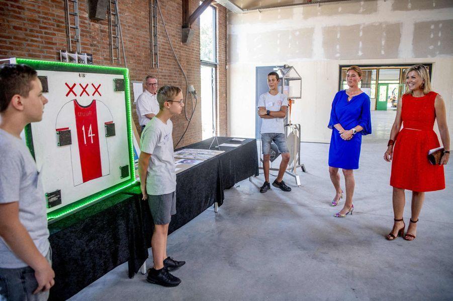 La reine Maxima des Pays-Bas à Woerden, le 25 juin 2020