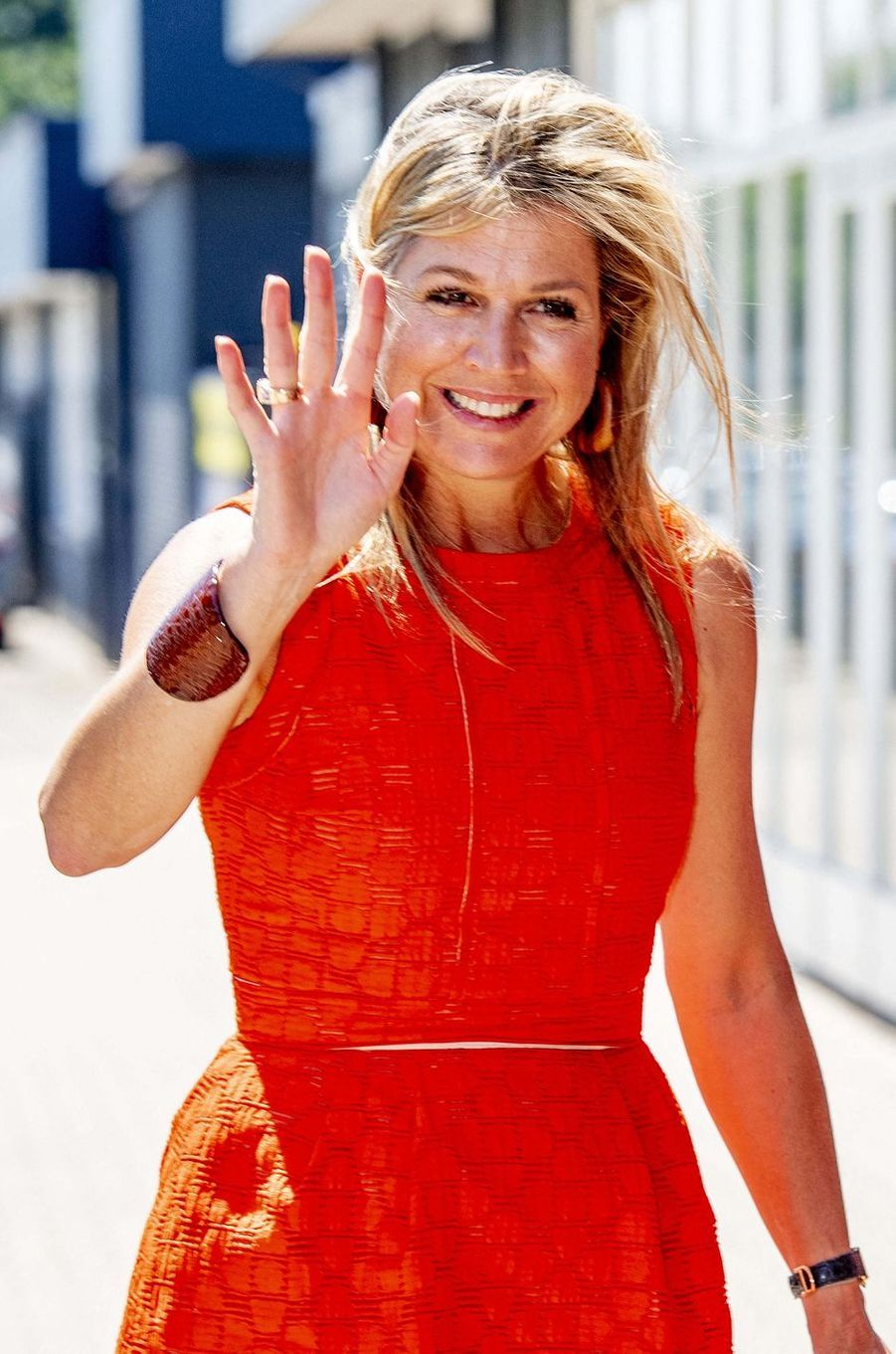 La reine Maxima des Pays-Bas, le 25 juin 2020