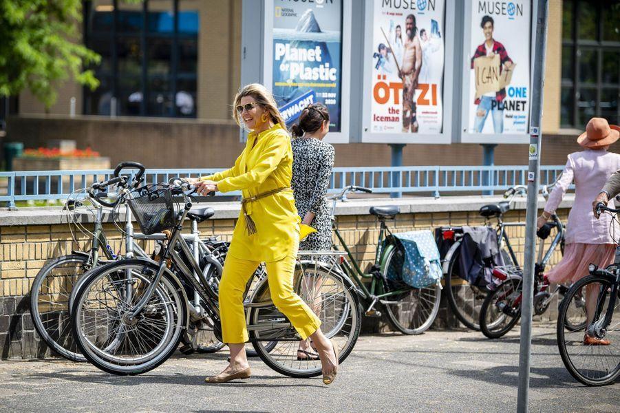 La reine Maxima des Pays-Bas à La Haye, le 2 juin 2020