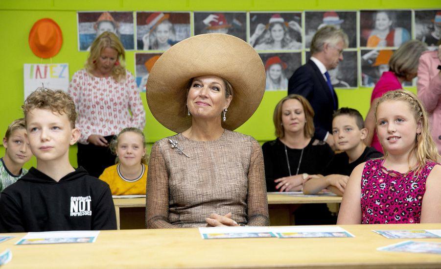 La reine Maxima des Pays-Bas à Toldijk, le 4 septembre 2019