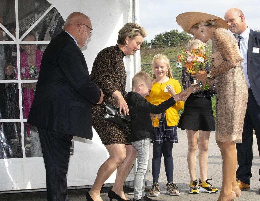 La reine Maxima des Pays-Bas à Beltrum, le 4 septembre 2019