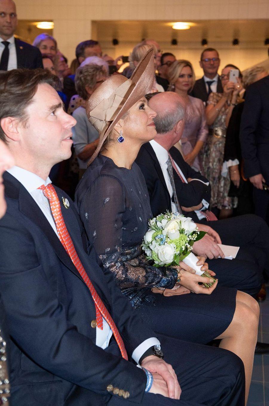 La reine Maxima des Pays-Bas à Lieshout, le 28 mars 2019