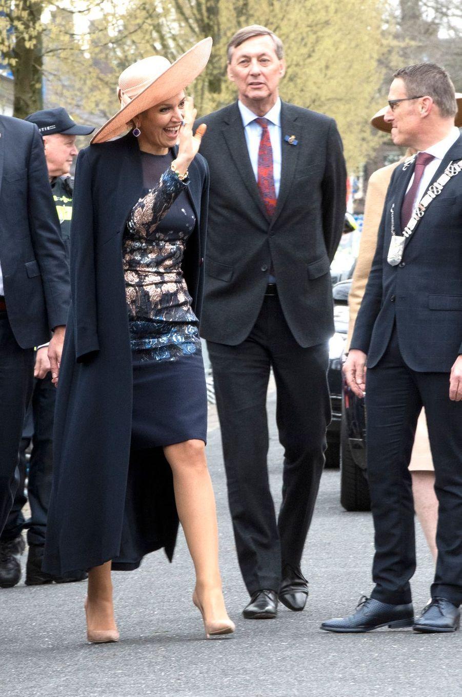 La reine Maxima des Pays-Bas, le 28 mars 2019 à Lieshout