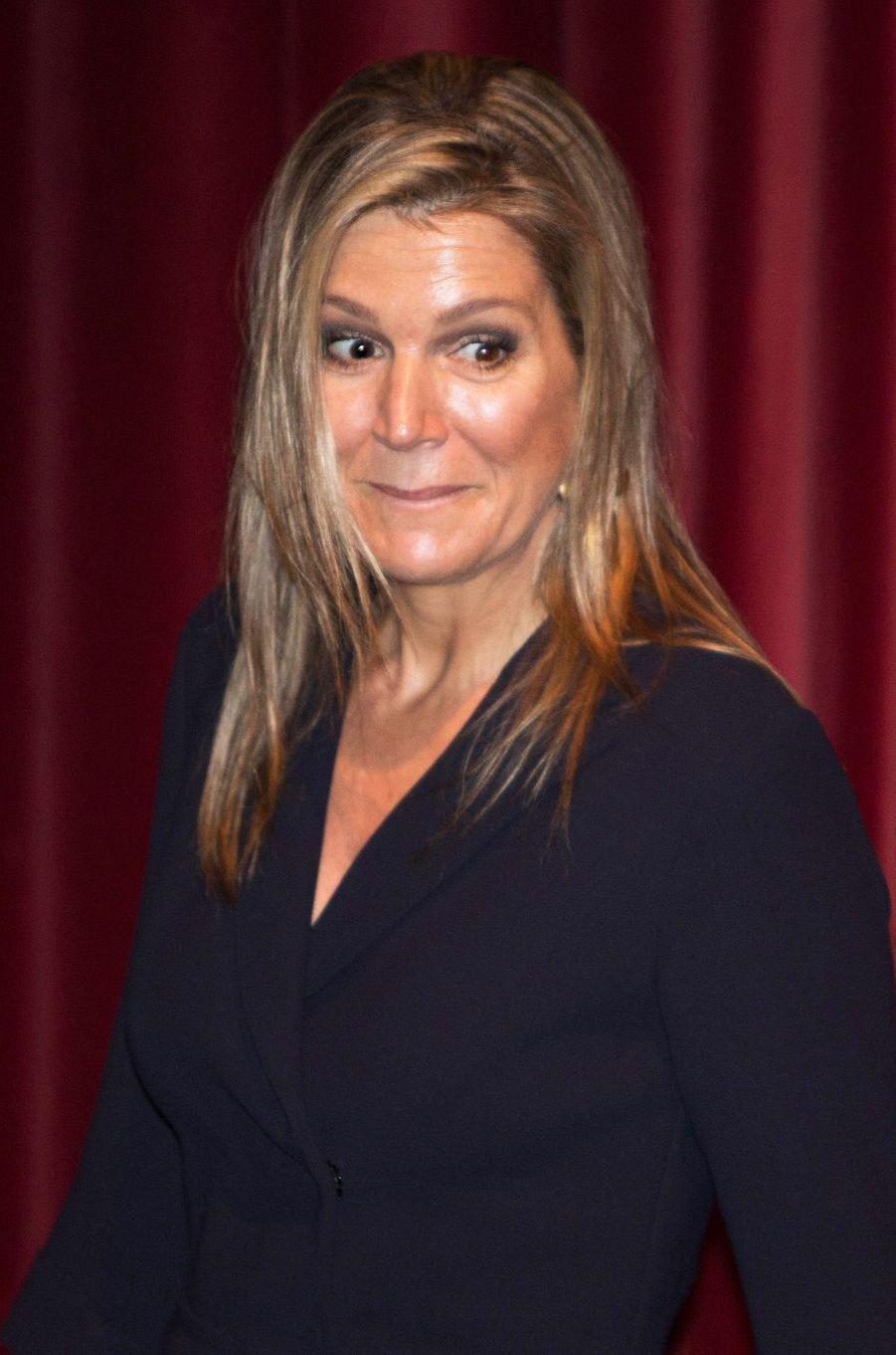 La reine Maxima des Pays-Bas à Zevenaar, le 27 juin 2018