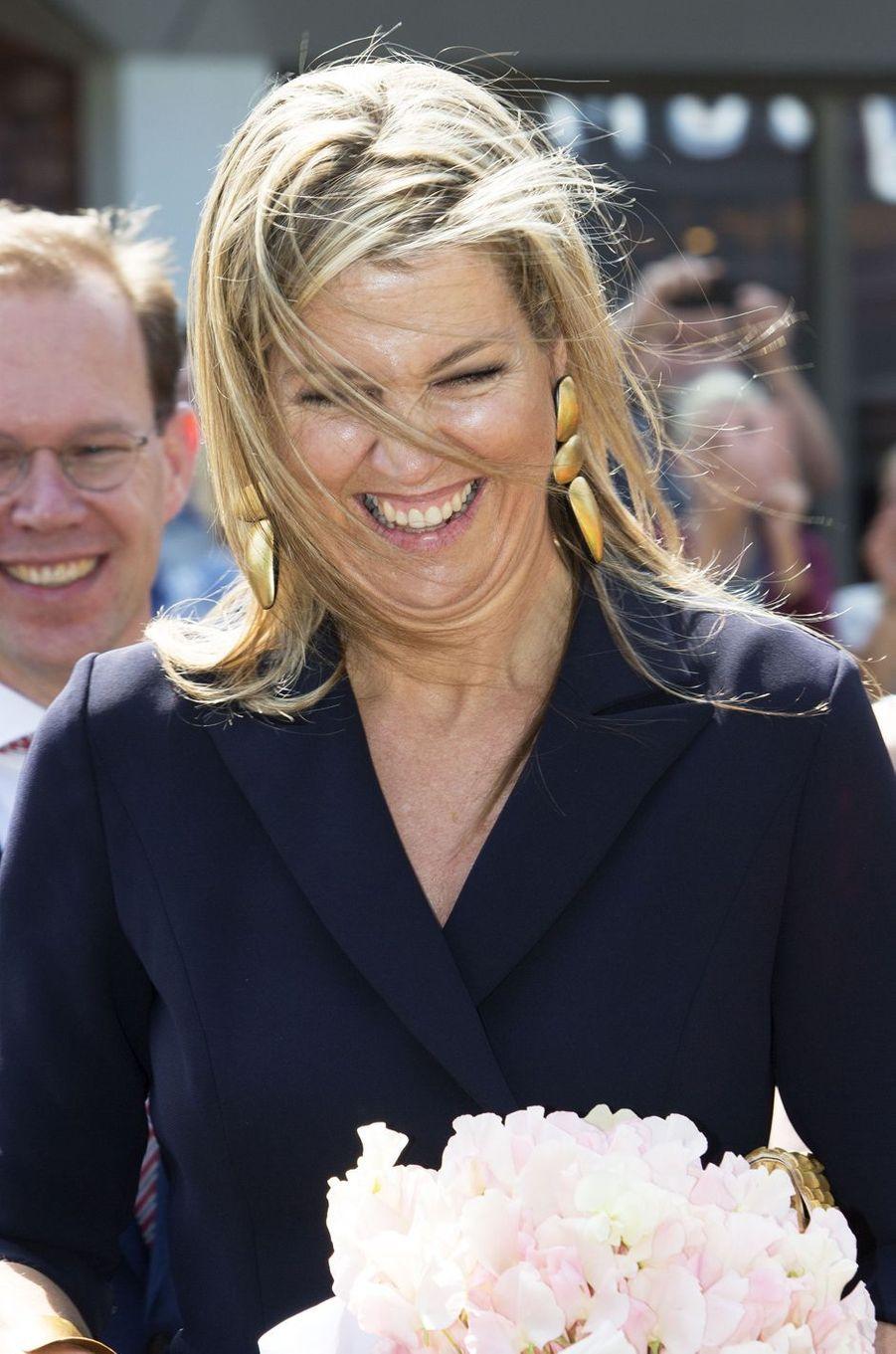 La reine Maxima des Pays-Bas, le 27 juin 2018 à Zevenaar