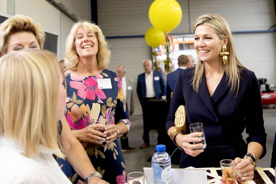 La reine Maxima des Pays-Bas à Ittervoort, le 27 juin 2018