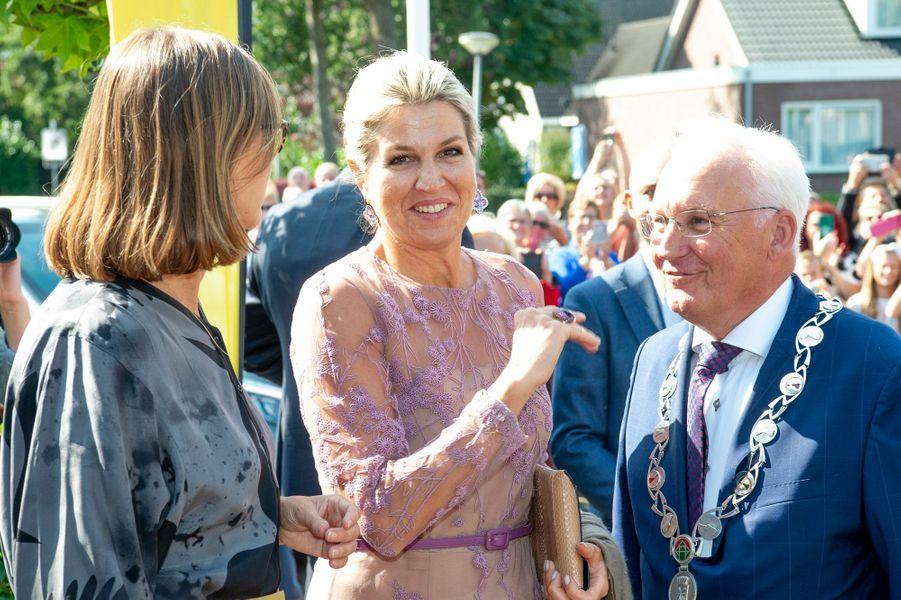 La reine Maxima des Pays-Bas, le 10 septembre 2019 à Giessenburg