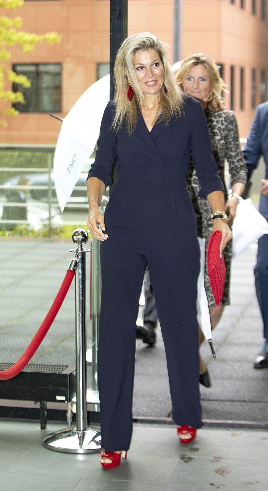 La reine Maxima des Pays-Bas, en Natan, à La Haye le 11 septembre 2019