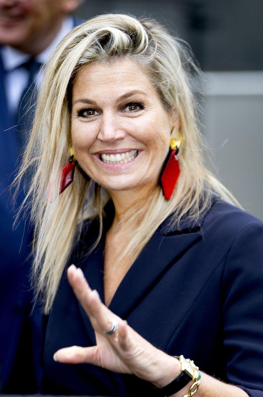 La reine Maxima des Pays-Bas à La Haye, le 11 septembre 2019