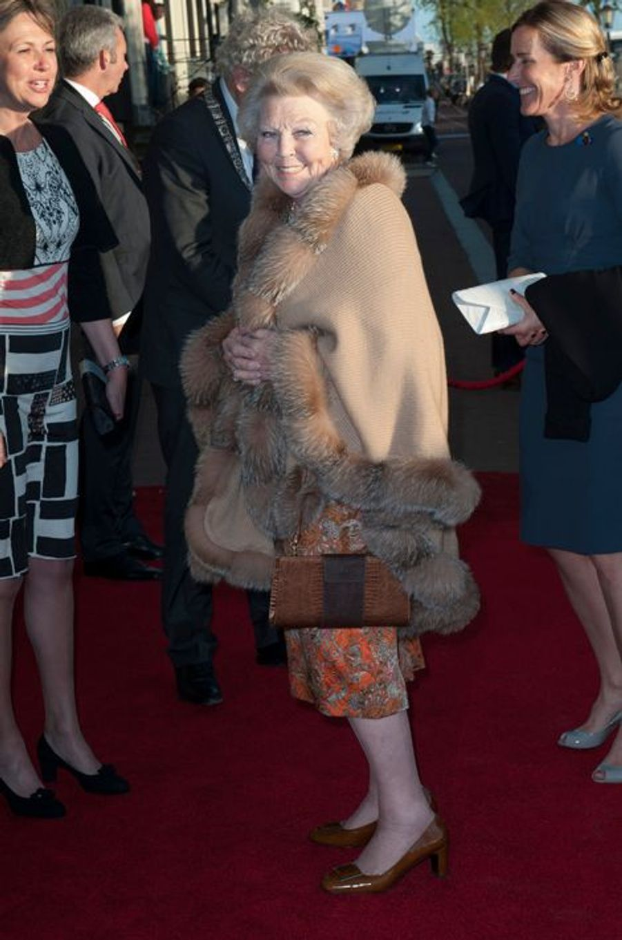 La princesse Beatrix des Pays-Bas à Amsterdam, le 5 mai 2015