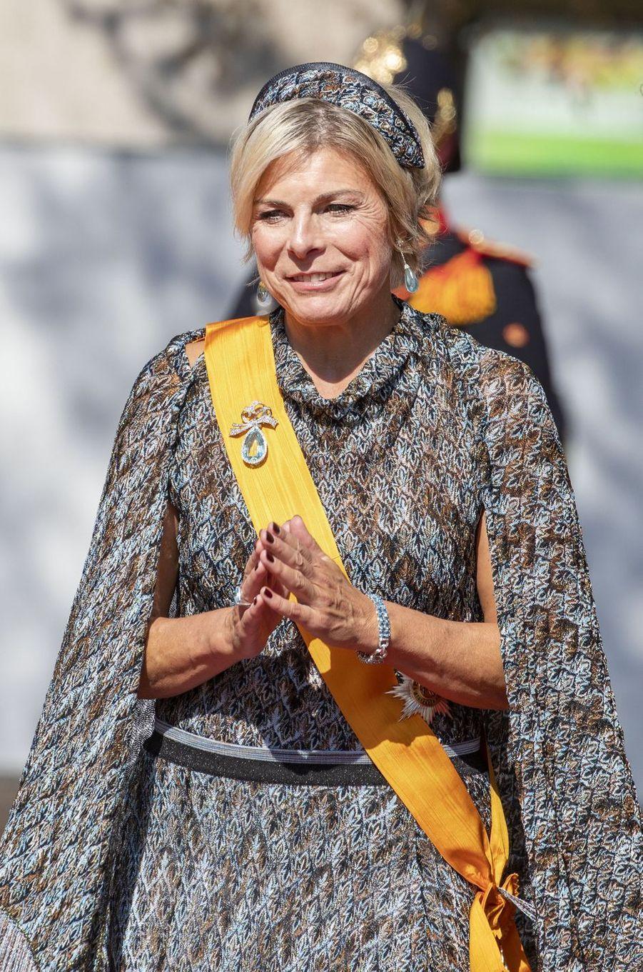 La princesse Laurentien des Pays-Bas à La Haye, le 15 septembre 2020