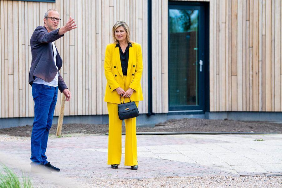 La reine Maxima des Pays-Bas à Oostkapelle, le 8 juillet 2020