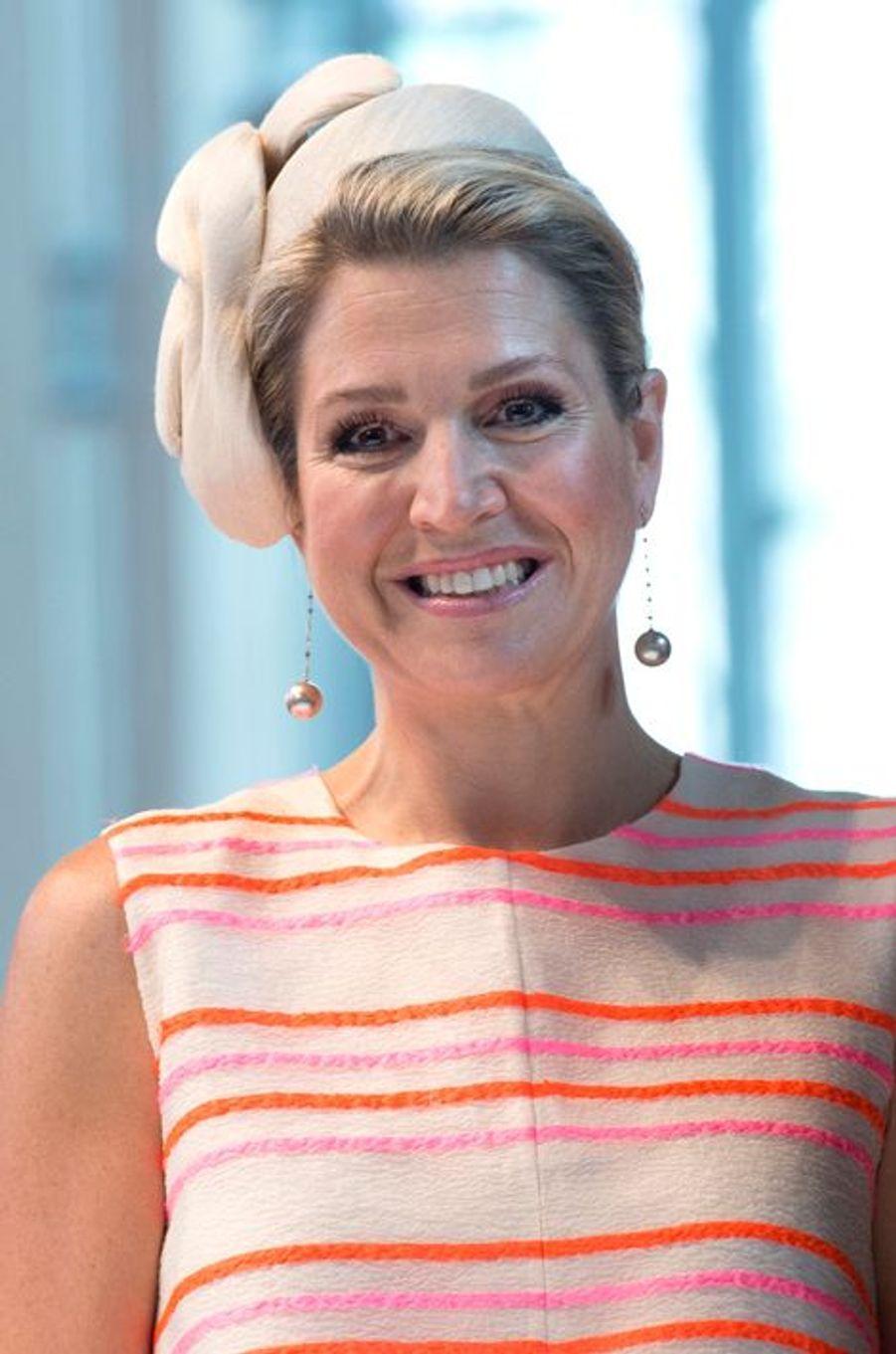 La reine Maxima des Pays-Bas à La Haye, le 24 juin 2015