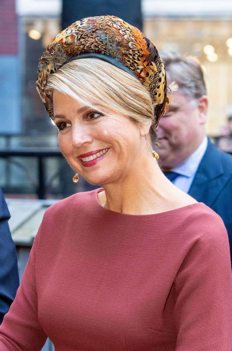 La reine Maxima des Pays-Bas, le 18 février 2020 à Amsterdam