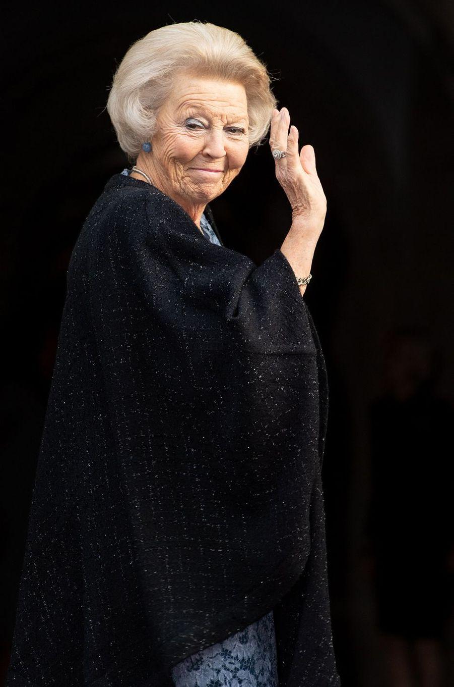 La princesse Beatrix des Pays-Bas à Amsterdam, le 28 novembre 2019