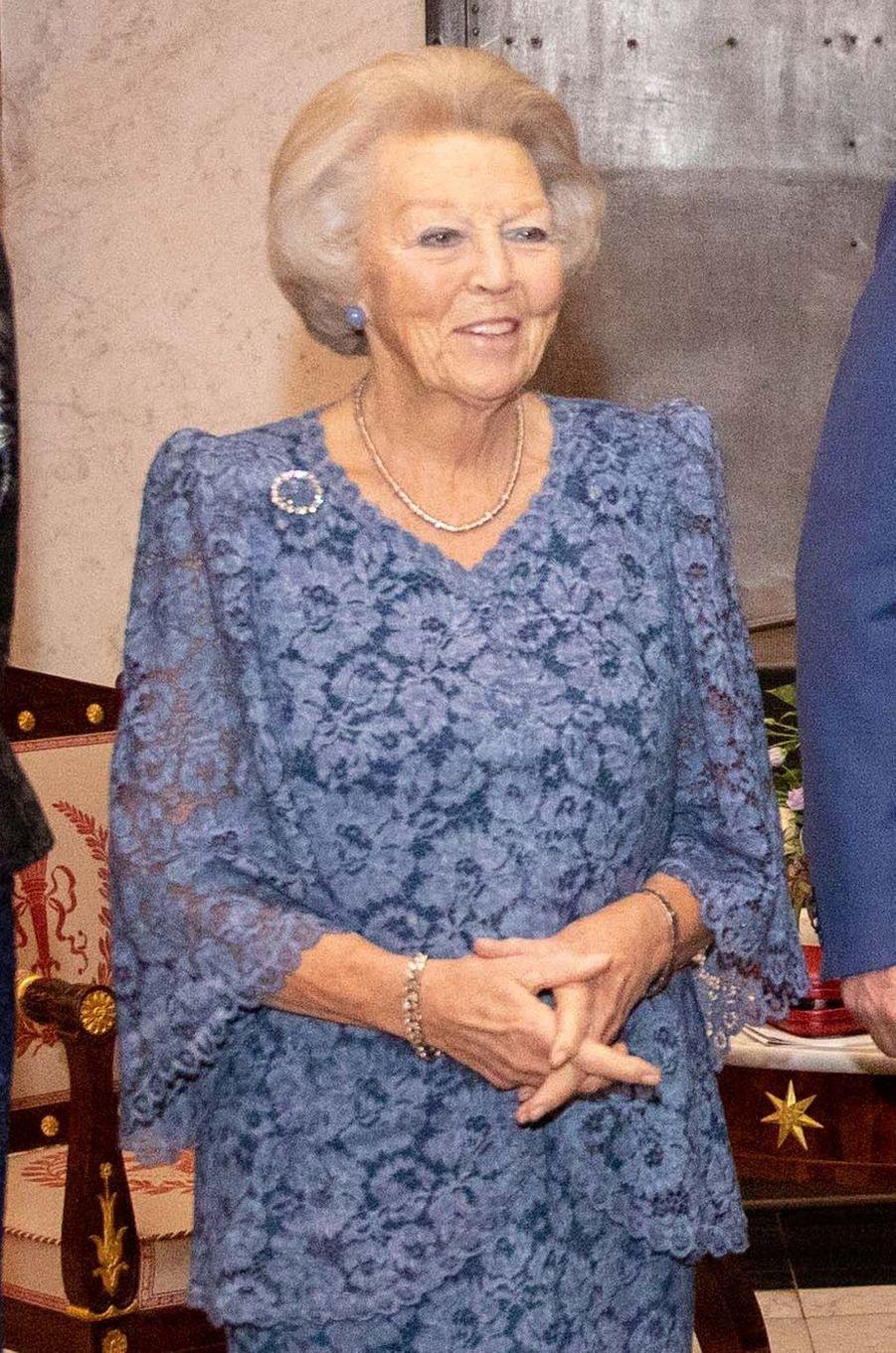 L'ex-reine Beatrix des Pays-Bas à Amsterdam, le 28 novembre 2019