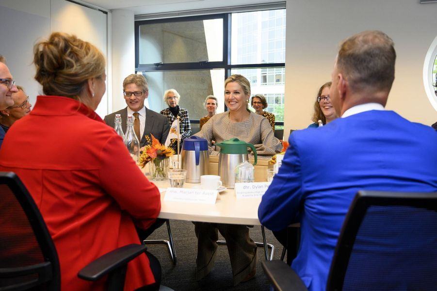 La reine Maxima des Pays-Bas à Amersfoort, le 3 octobre 2019