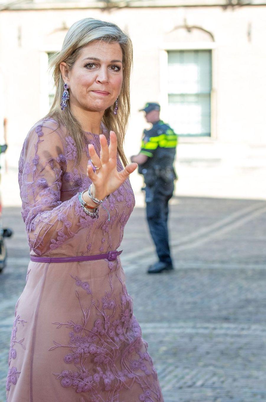 La reine Maxima des Pays-Bas à La Haye, le 21 juin 2018
