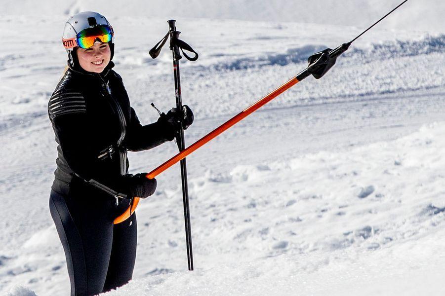 La princesse Catharina-Amalia des Pays-Bas à Lech, le 25 février 2019