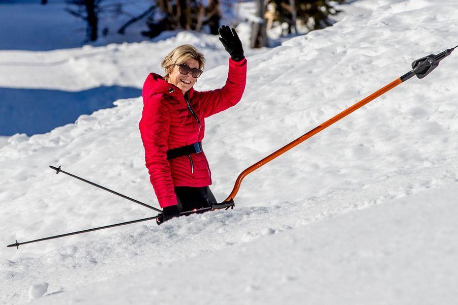 La princesse Laurentien des Pays-Bas à Lech, le 25 février 2019