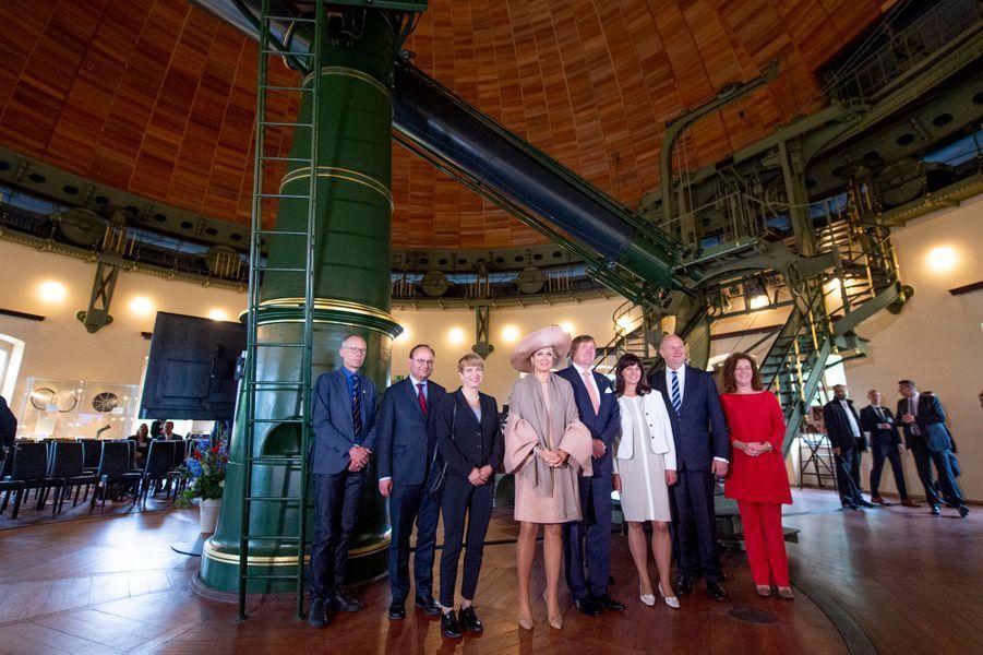 Le roi Willem-Alexander et la reine Maxima des Pays-Bas à Potsdam, le 22 mai 2019