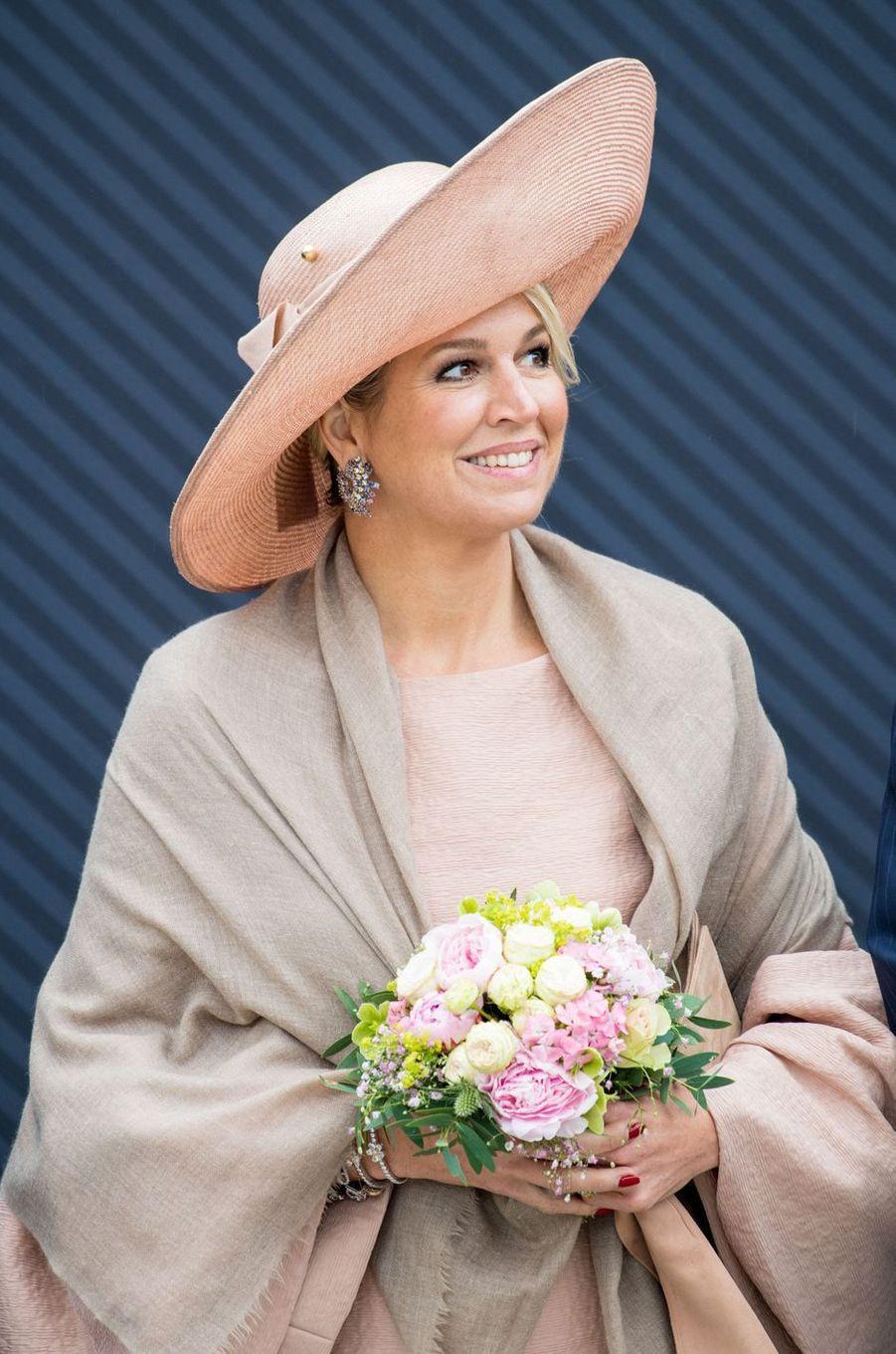 La reine Maxima des Pays-Bas à Potsdam, le 22 mai 2019