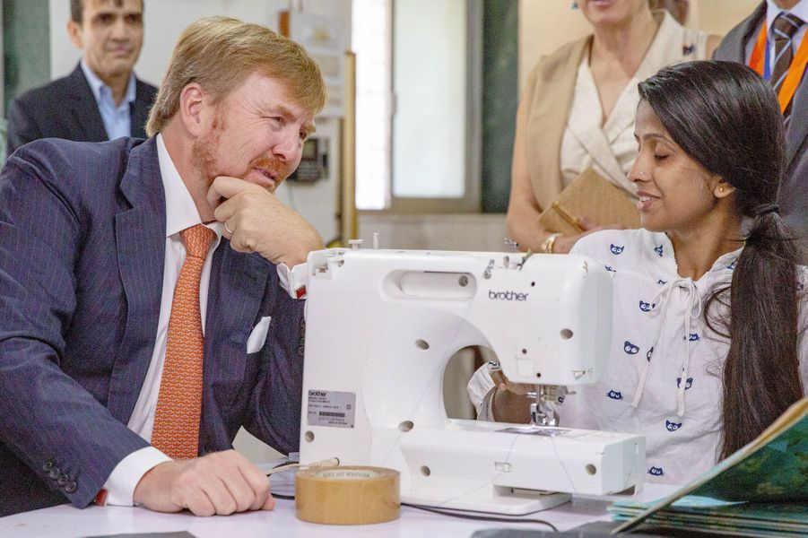Le roi Willem-Alexander des Pays-Bas à Mumbai, le 16 octobre 2019