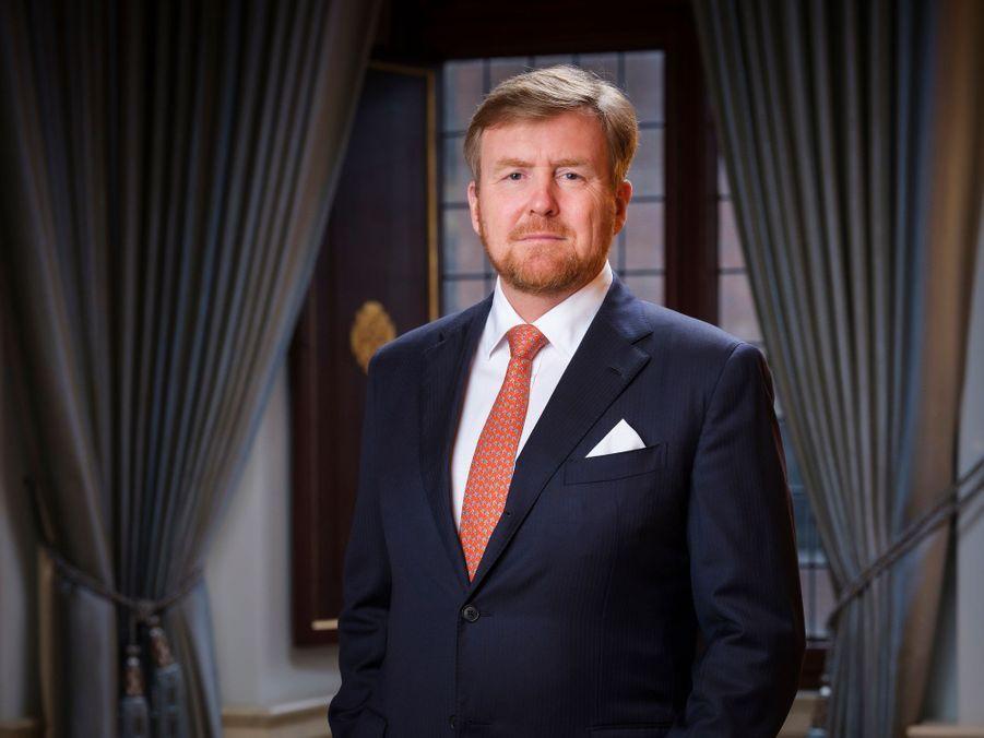 L'un des nouveaux portraits du roi Willem-Alexander des Pays-Bas, diffusé le 8 février 2020