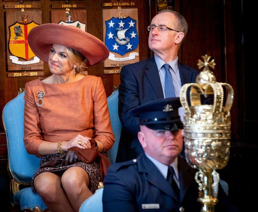 La reine Maxima des Pays-Bas à Dublin, le 13 juin 2019