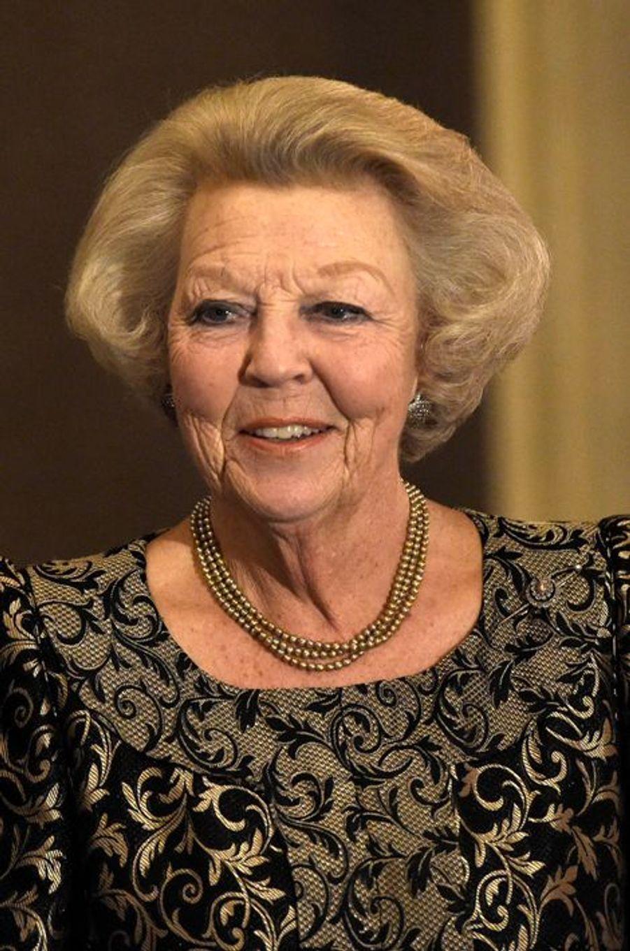 La princesse Beatrix des Pays-Bas à Amsterdam, le 25 novembre 2015
