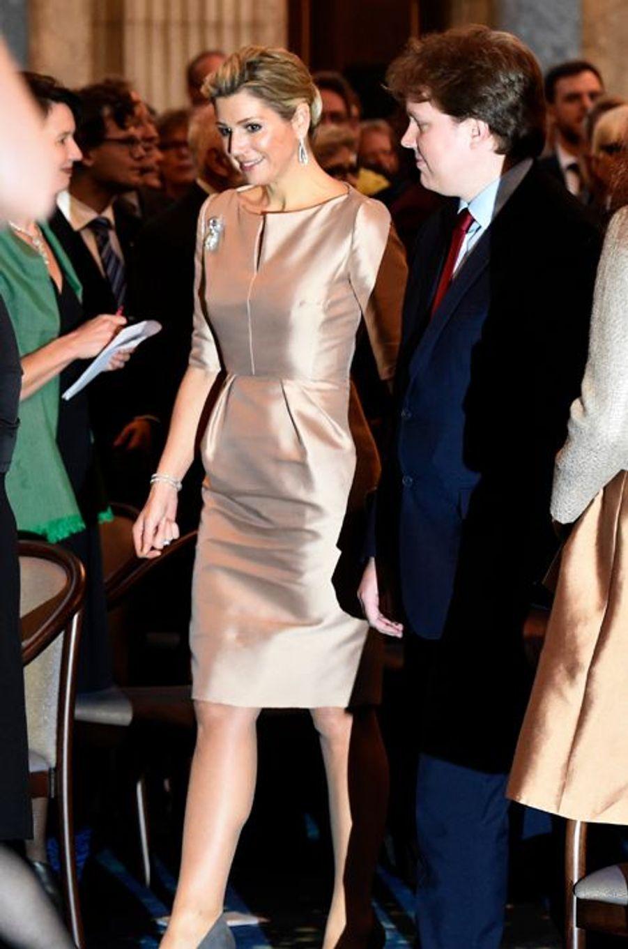 La reine Maxima des Pays-Bas à Amsterdam, le 25 novembre 2015
