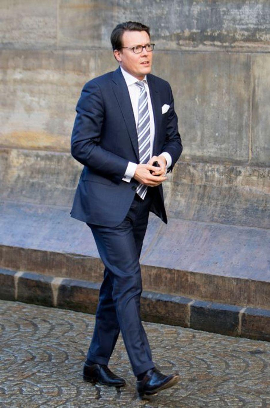 Le prince Constantijn des Pays-Bas à Amsterdam, le 25 novembre 2015