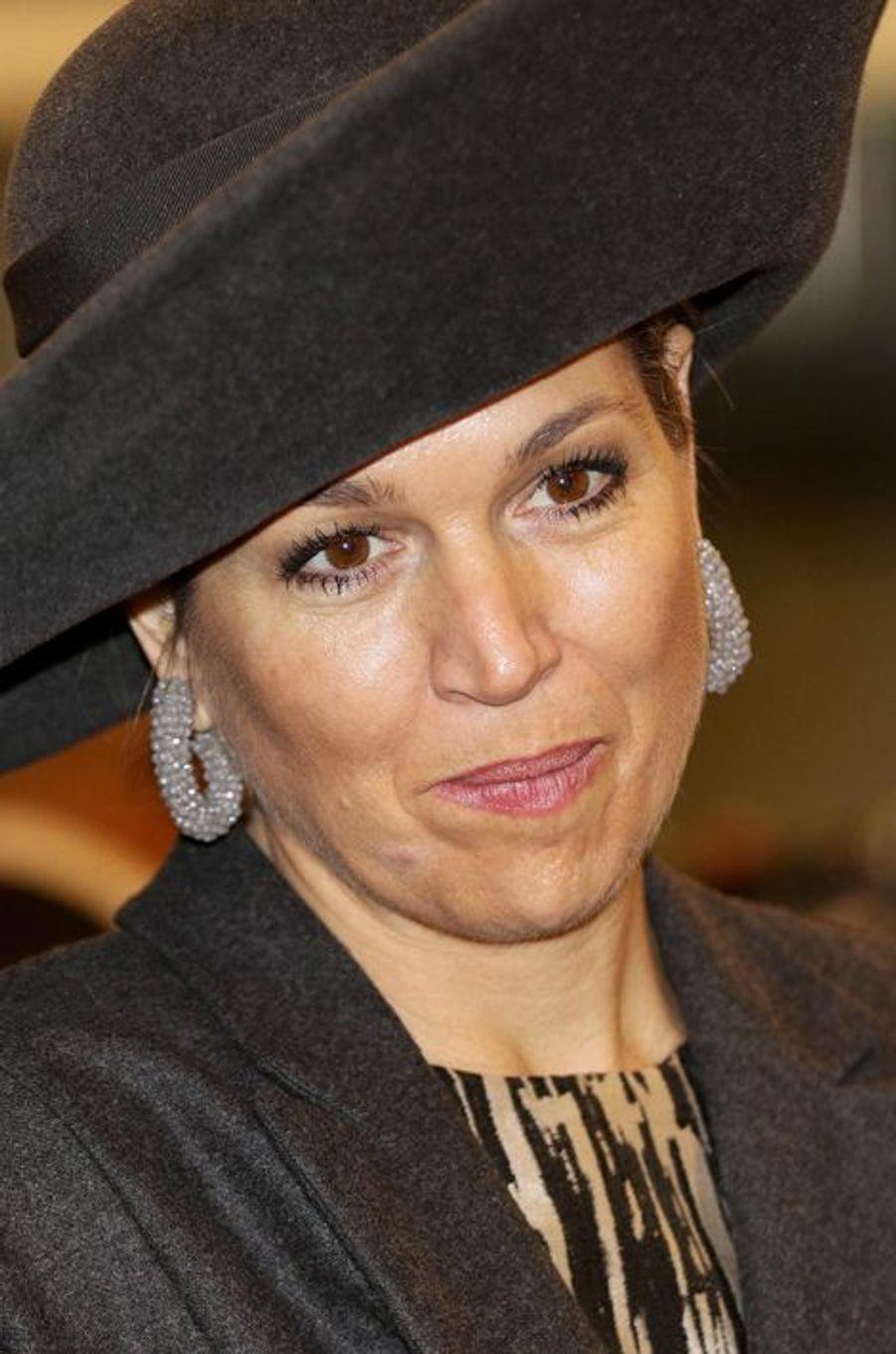 La reine Maxima des Pays-Bas dans le Brabant-Septentrional, le 16 février 2016