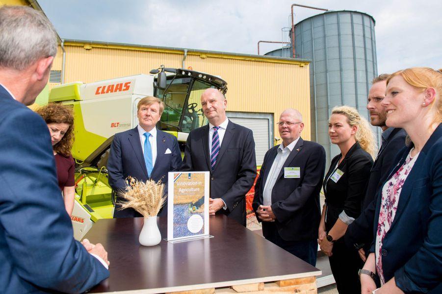La reine Maxima et le roi Willem-Alexander des Pays-Bas à Nauen, le 21 mai 2019