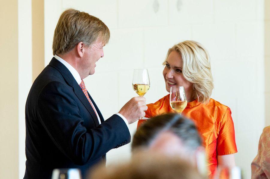 Le roi Willem-Alexander des Pays-Bas à Schwerin, le 20 mai 2019