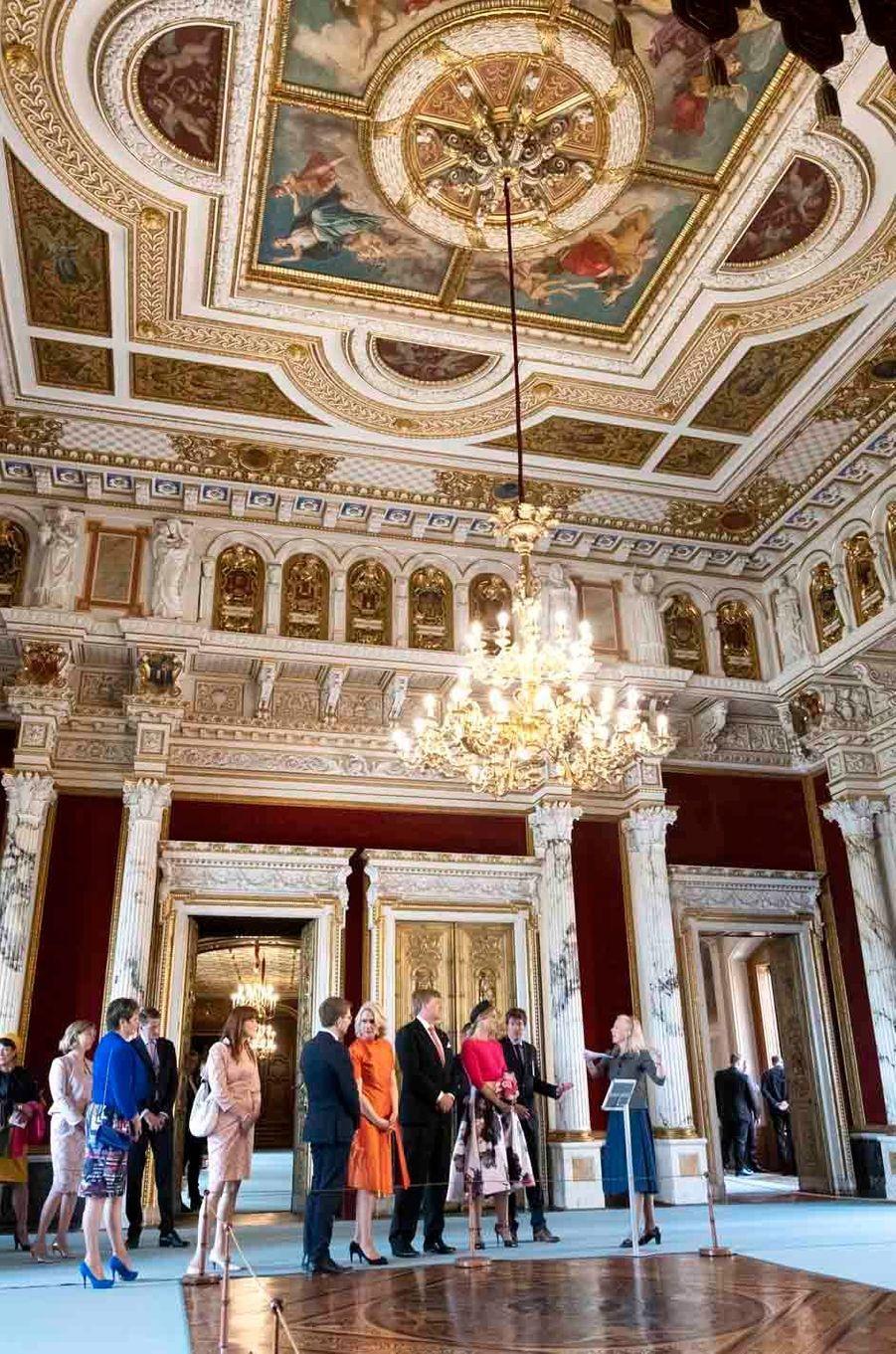 La reine Maxima et le roi Willem-Alexander des Pays-Bas à Schwerin, le 20 mai 2019