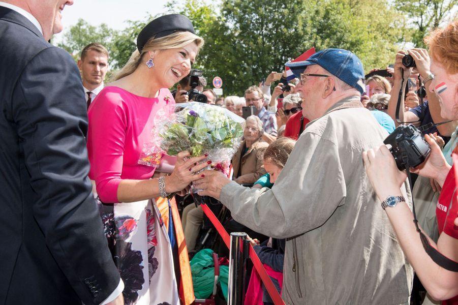 La reine Maxima des Pays-Bas à Schwerin, le 20 mai 2019