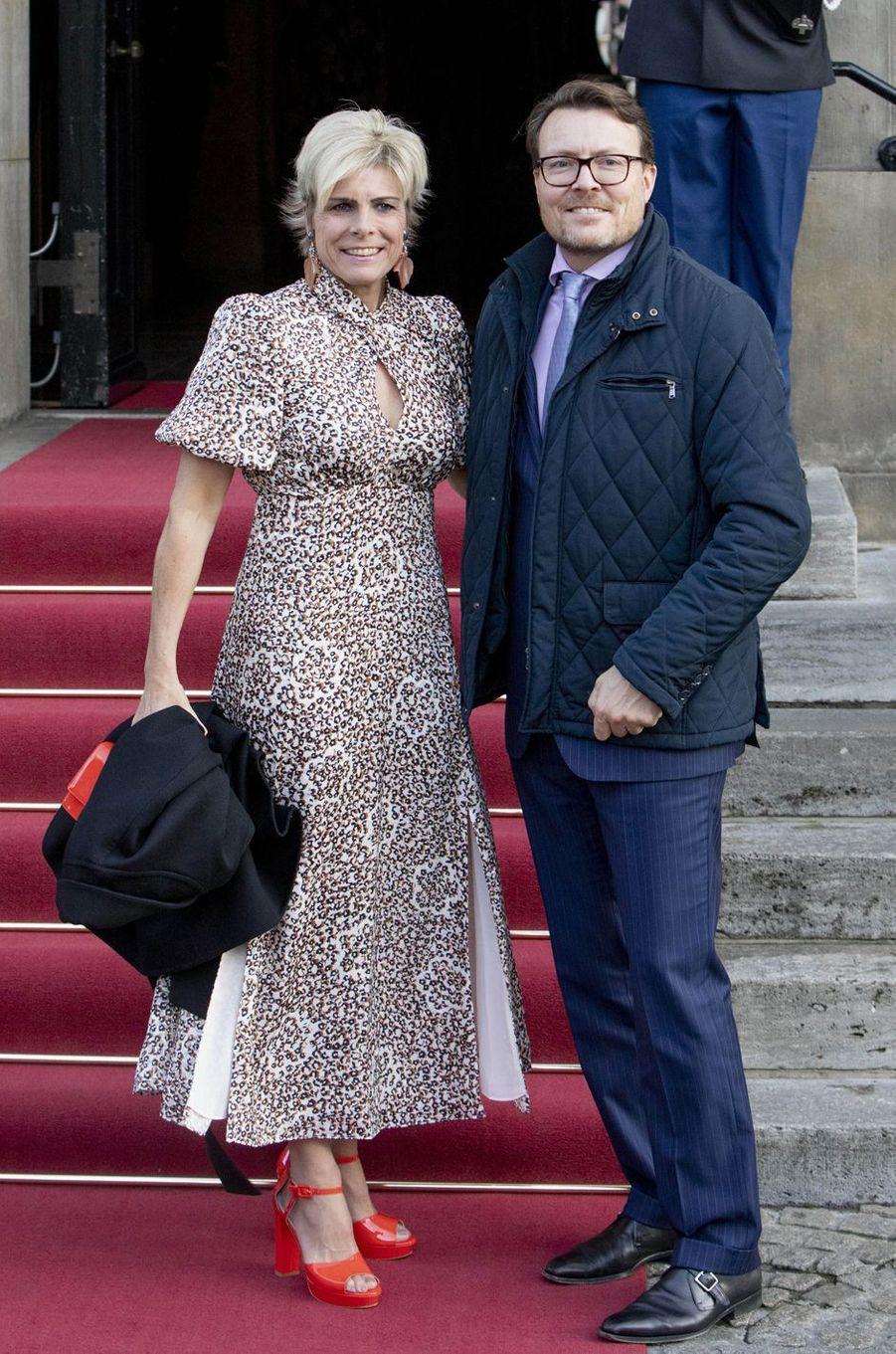 La princesse Laurentien et le prince Constantijn des Pays-Bas à Amsterdam, le 4 décembre 2019