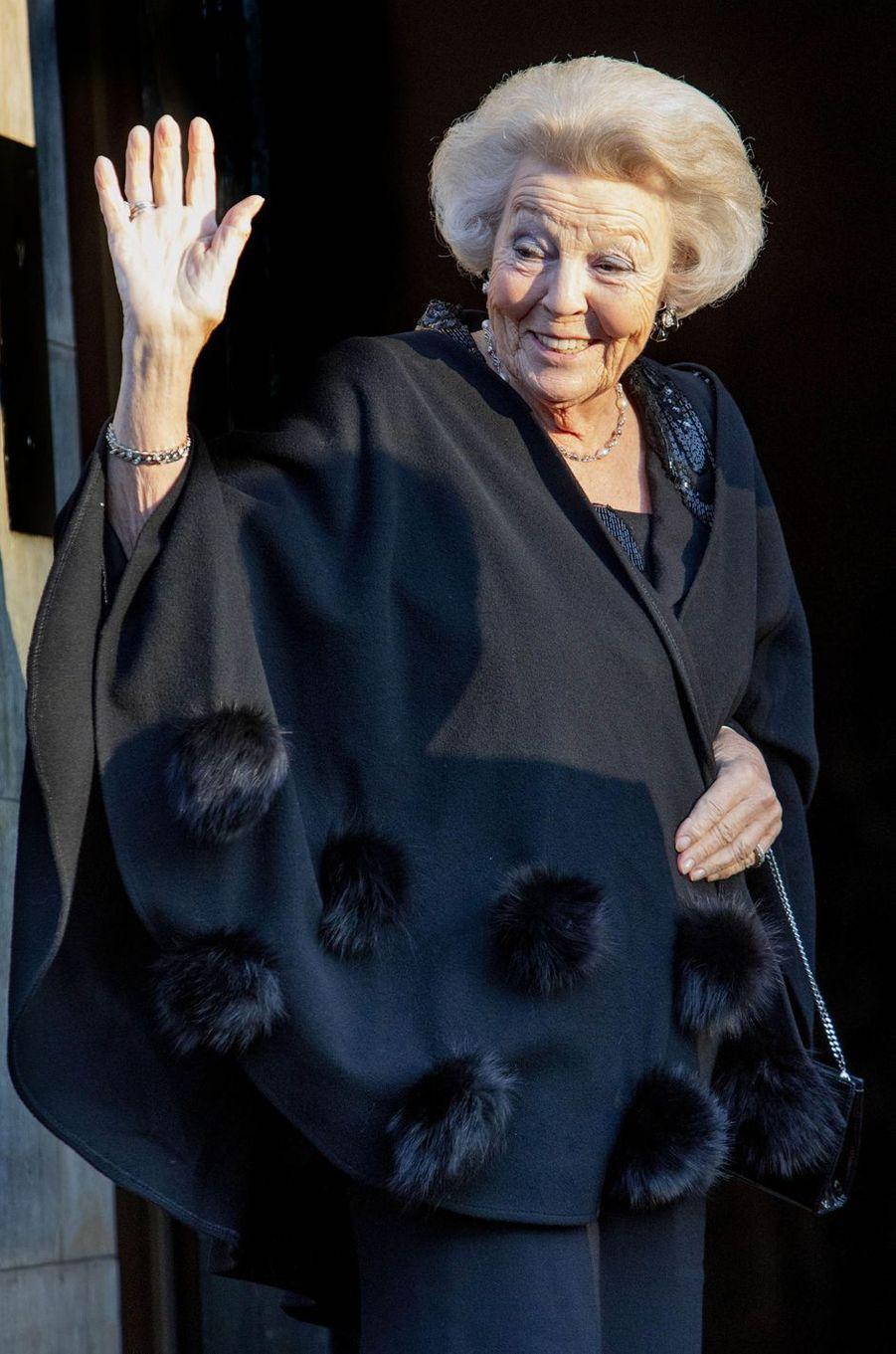 La princesse Beatrix des Pays-Bas à Amsterdam, le 4 décembre 2019