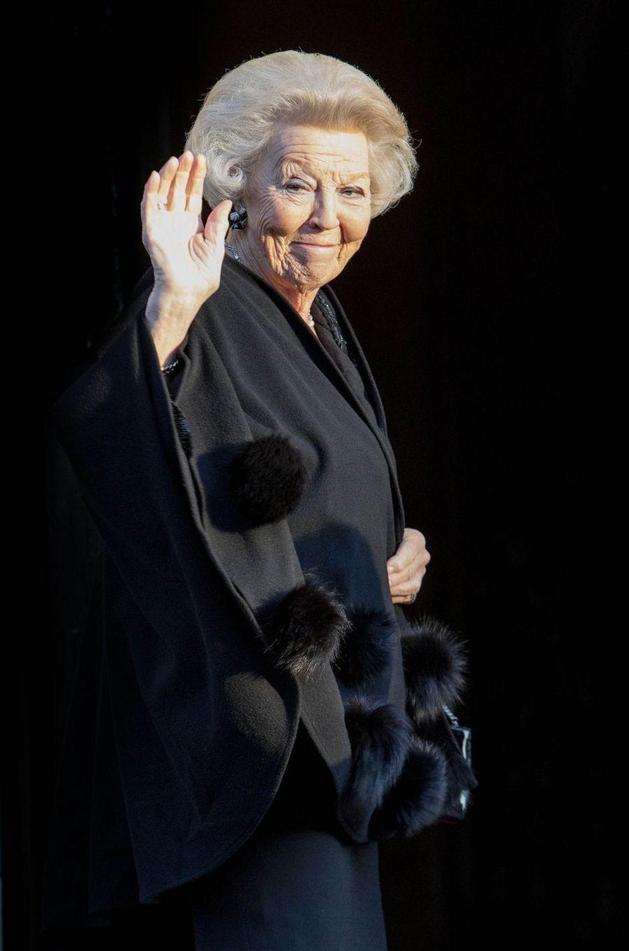 L'ex-reine Beatrix des Pays-Bas à Amsterdam, le 4 décembre 2019