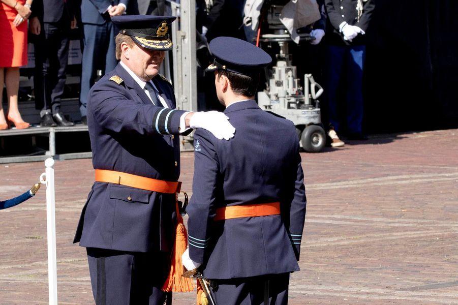 Le roi Willem-Alexander des Pays-Bas à la Haye, le 31 août 2018