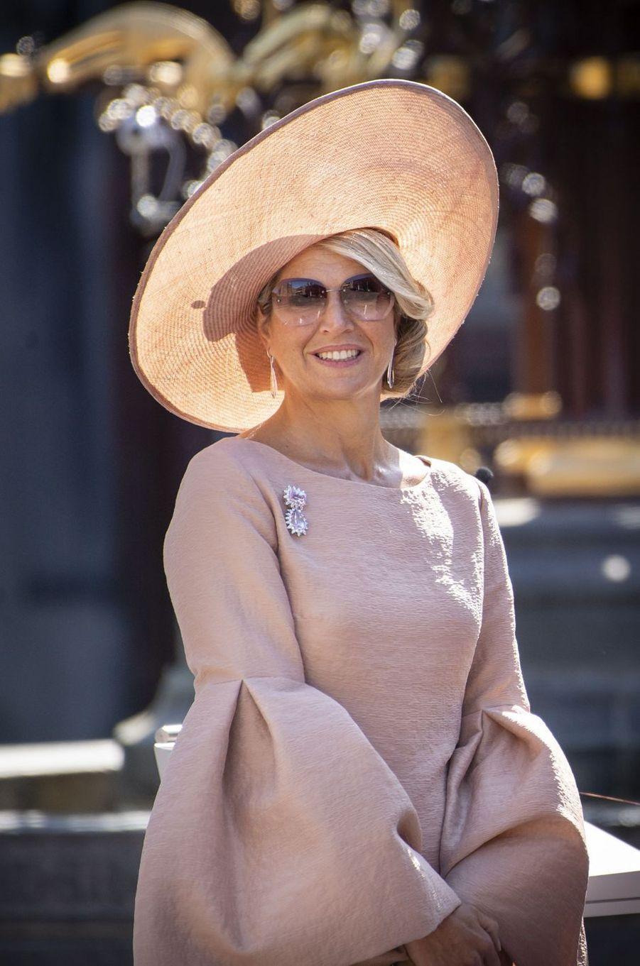 La reine Maxima des Pays-Bas à la Haye, le 31 août 2018
