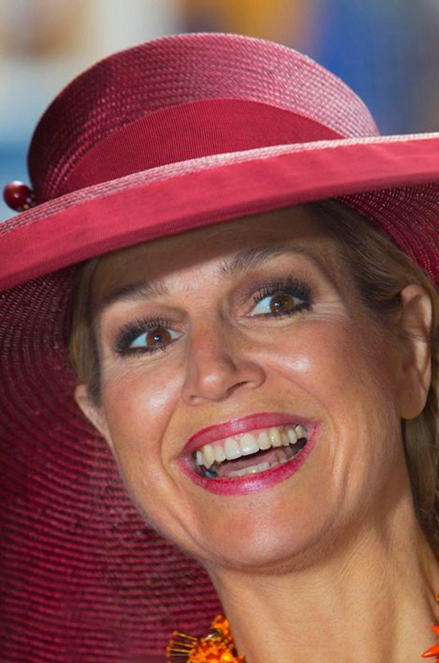 La reine Maxima des Pays-Bas au musée Boijmans Van Beuningen à Rotterdam, le 19 juin 2015